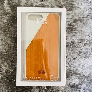 Native Union Clic Wooden Case for iPhone 7 Plus